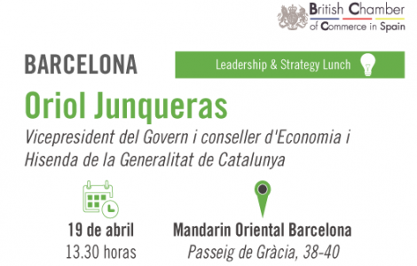 banner oriol junqueras leadership strategy