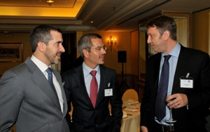 Leadership and Strategy Lunch in Madrid with Sr. Ruiz, President and Managing Director of Jagaur Land Rover Spain.